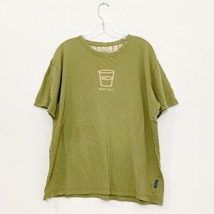 Men's Life is Good Half Full T-Shirt